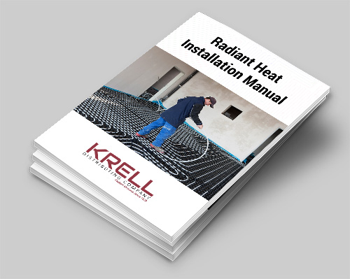 radiant heat wood floors installation guide from krell distributing company