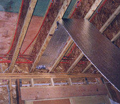radiant floor heating product reflective bubble insulation