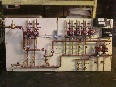 Syracuse, NY Pre-Fab Pump Module | Heat Pump System 11 | heat pump systems 8 zone | Krell Distributing