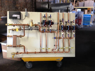 wood boiler heat pump systems 5 zone