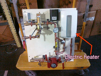 heat pump systems electric heater