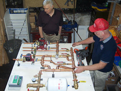 heat pumps systems construction air tested