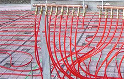 radiant heat supplies pex tubing for contractors from krell distributing