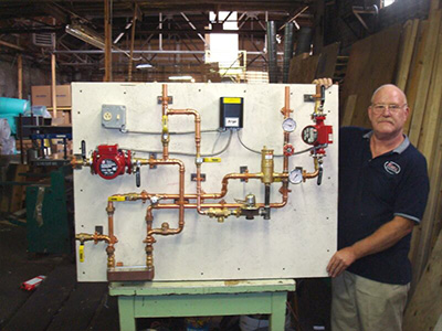 syracuse, ny diy radiant floor heating system pre fab pump module from krell distributing