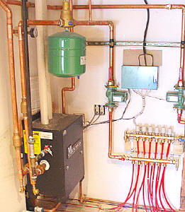 syracuse, ny open close radiant heating systems krell distributing